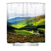 Where Is Soul Flying. Wicklow Mountains. Ireland Shower Curtain