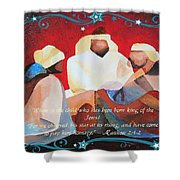 Where Is The Child Who Has Been Born King Of The Jews Shower Curtain