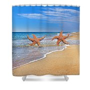 Where Stars Are Born Shower Curtain