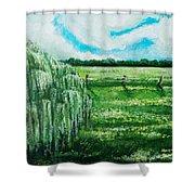 Where The Green Grass Grows Shower Curtain