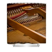 Where The Music Lives Shower Curtain