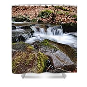 Where The River Flows Shower Curtain