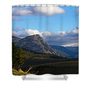 Where The Valley Leads Shower Curtain