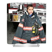 Where's The Fire? Shower Curtain