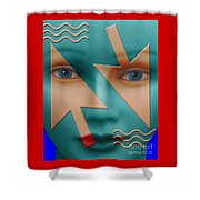 Which Direction Shower Curtain