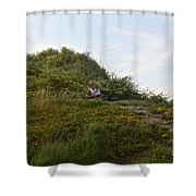 Two Aspects Of Creativity  Shower Curtain