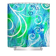 Whimsical By Jan Marvin Shower Curtain