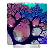 Whimsical Forest Shower Curtain