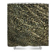 Whimsical Sparkling Sunny Water Play Shower Curtain