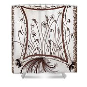 Whimsical Window Shower Curtain