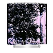Whimsy Timber Shower Curtain