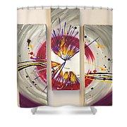 Whiplash Shower Curtain