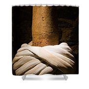 Whirling Dervishes Turban  Shower Curtain