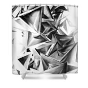 Whirlstructure II Shower Curtain