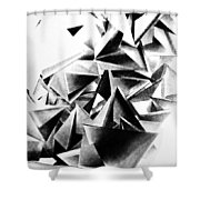 Whirlstructure IIi Shower Curtain