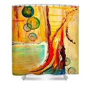 Whirlwind I Shower Curtain