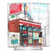 Whisky-a-go-go In West Hollywood - California Shower Curtain