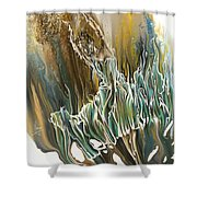 Whisper Shower Curtain by Karina Llergo