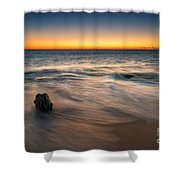 Whisper Of The Waves  Shower Curtain