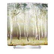 Whisper The Trees Shower Curtain