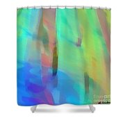 Whispering Breeze Shower Curtain