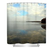 Whispering Skies Shower Curtain