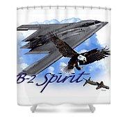 Whispering Spirit Shower Curtain