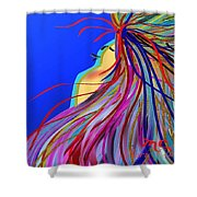 Whispering Wind Shower Curtain