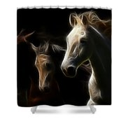 Whispering Winds Shower Curtain