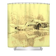 Whispers Of Mabry Mill Shower Curtain