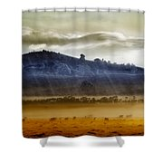 Whisps Of Velvet Rains... Shower Curtain