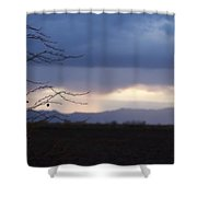Whispy Farm Weed Shower Curtain