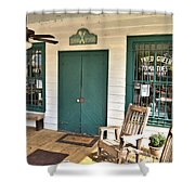 Whistle Stop Cafe Shower Curtain