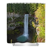 Whistler Bc Waterfall Shower Curtain