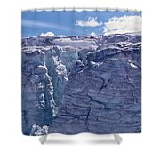 Whistler Glaciers Sc125-05 Shower Curtain