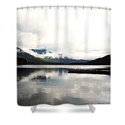 Whistler Lake Bc Shower Curtain
