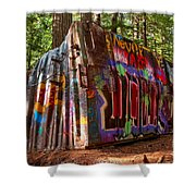Whistler Train Wreck Shower Curtain