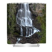 Whistler Waterfalls - Alexander Falls Shower Curtain
