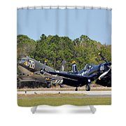 Whistling Death And Tico Belle Shower Curtain