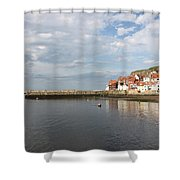 Whitby Abbey N.e Yorkshire Shower Curtain