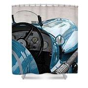 Maserati V8ri 1935 Shower Curtain