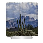 White Cotton Candy Clouds  Shower Curtain