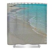 White Cove Shower Curtain