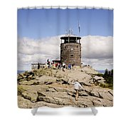White Face Lookout Shower Curtain