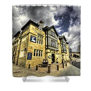 White Hart At Todmorden  Shower Curtain