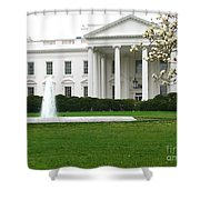 White House Shower Curtain