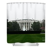 White House In Dc Shower Curtain