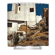 White Houses Of Ronda 1 Shower Curtain