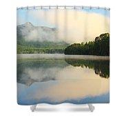 Morning On Lake Chocorua Shower Curtain