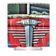 White Motor Company Highway Post Office U. S. Mail No 1 Shower Curtain